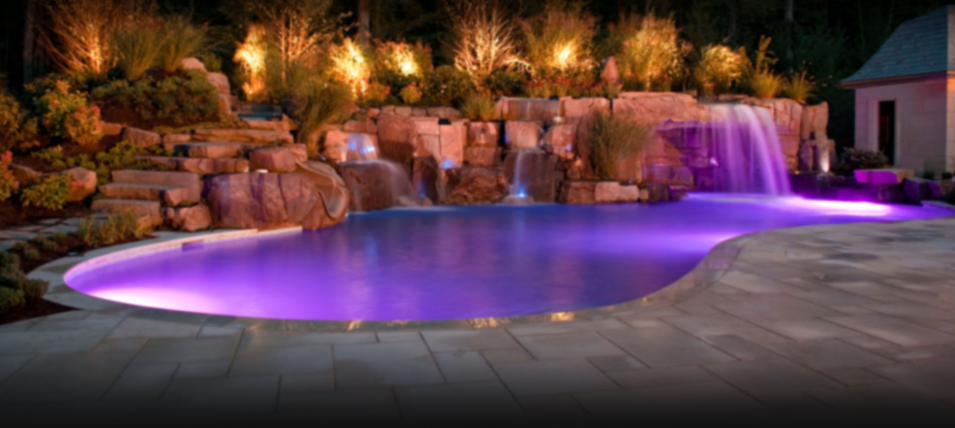 Waterfalls for Koi pond builders tampa