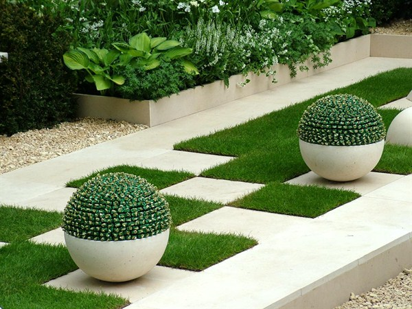 Garden Design: Garden Design With Outdoor Garden With Front Yard
